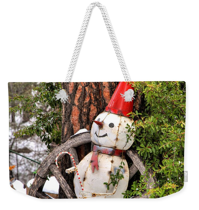 Diana Graves Photography Weekender Tote Bag featuring the photograph Happy Holidays by K D Graves