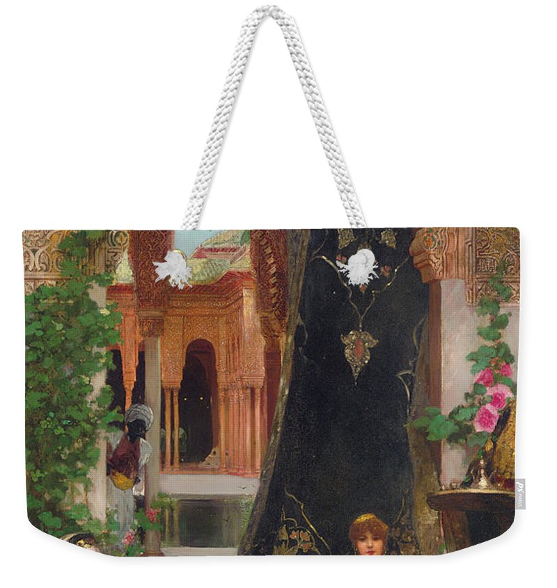 Constant Weekender Tote Bag featuring the painting Harem Women by Jean Joseph Benjamin Constant
