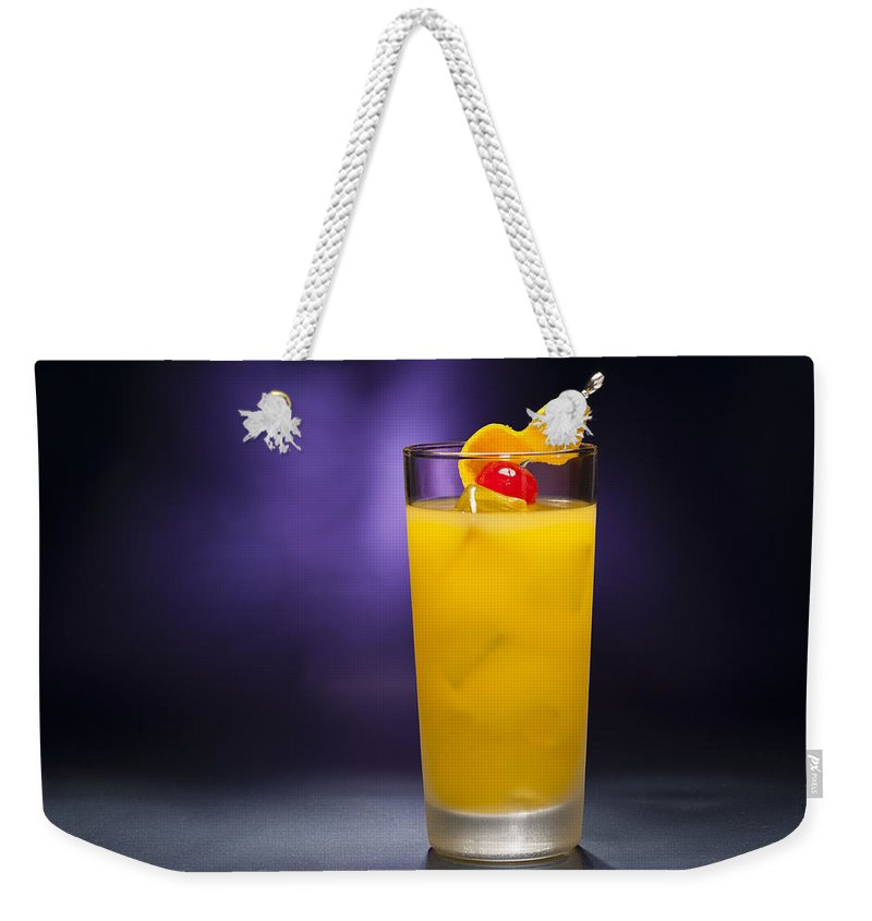Alcohol Weekender Tote Bag featuring the photograph Harvey Wallbanger by U Schade