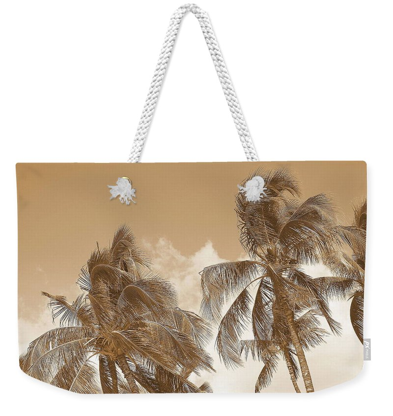 Landscape Weekender Tote Bag featuring the photograph Hawaiian Breeze by Athala Carole Bruckner