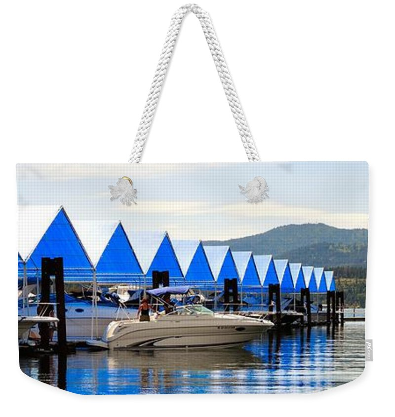 Resort Weekender Tote Bag featuring the photograph Heading Out 6777 by Jerry Sodorff