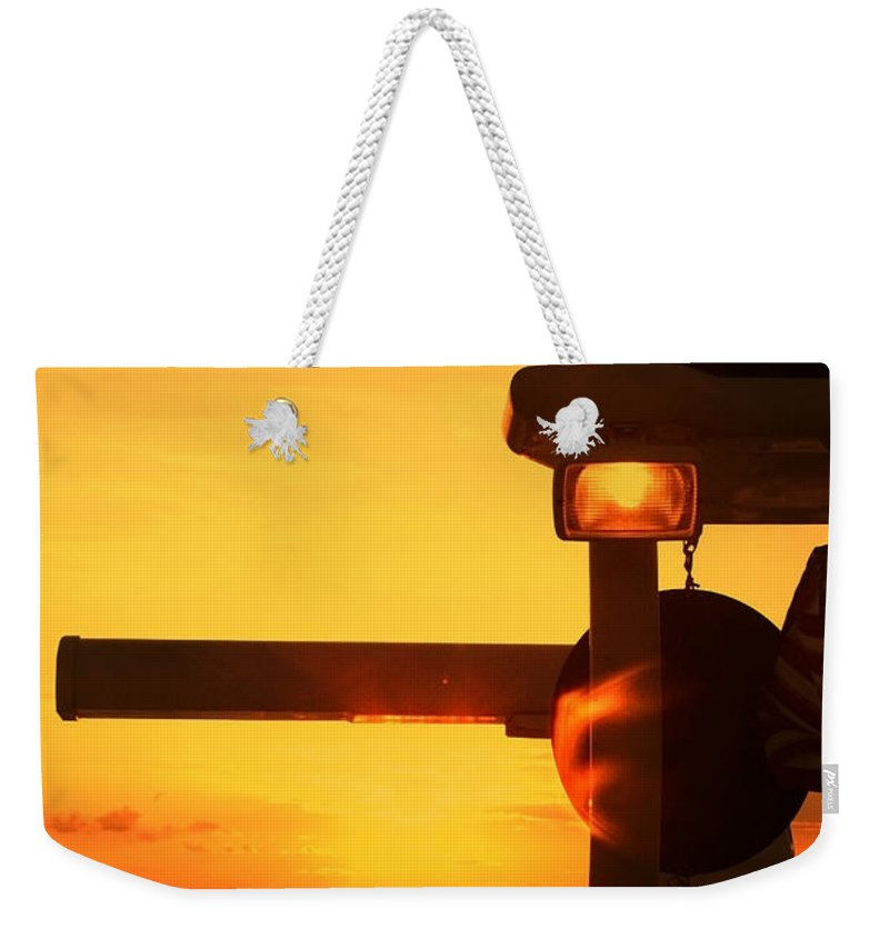 Sunset Weekender Tote Bag featuring the photograph Heading Towards The Sun By Diana Sainz by Diana Raquel Sainz