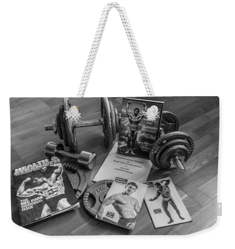 Health And Strength Weekender Tote Bag featuring the photograph Health And Strength by Tgchan