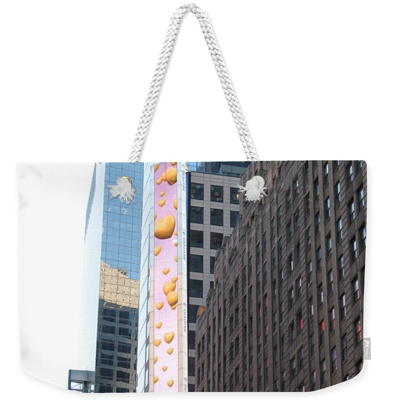 Hearts Weekender Tote Bag featuring the photograph Hearts On The Run by Christiane Schulze Art And Photography