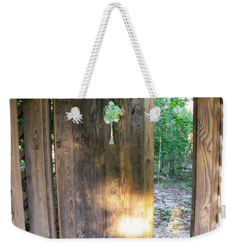 Heaven Weekender Tote Bag featuring the photograph Heavens Door Is Always Open by Matthew Seufer