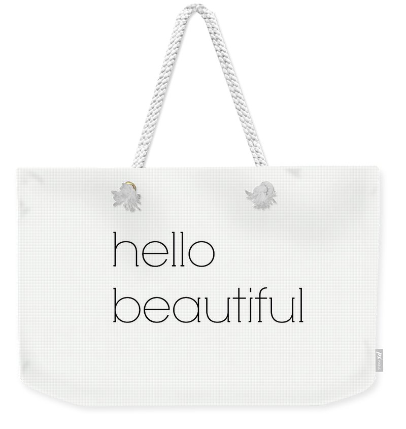 Beautiful Girl Art Weekender Tote Bags