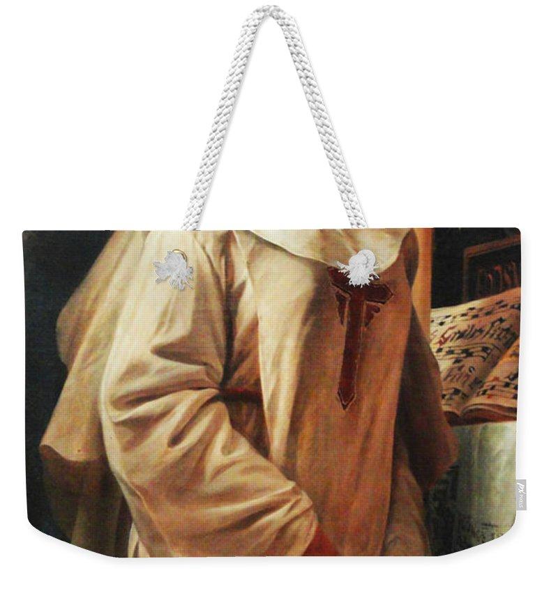 Pedro Americo Weekender Tote Bag featuring the digital art Heloisas Vow by Pedro Americo