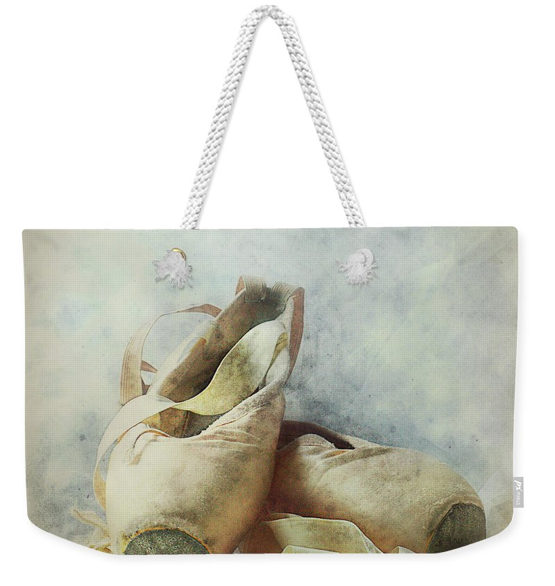 Netherlands Weekender Tote Bag featuring the photograph Her Life, Her World....her Shoes by Bob Van Den Berg Photography