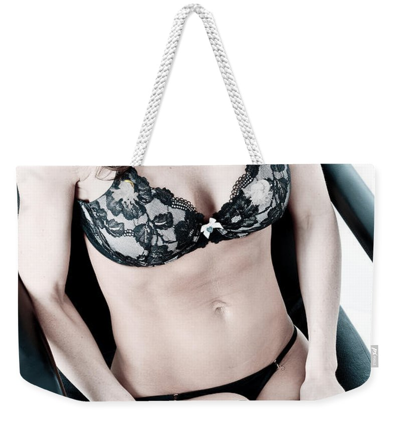 Gun Weekender Tote Bag featuring the photograph Her Protection by Jt PhotoDesign
