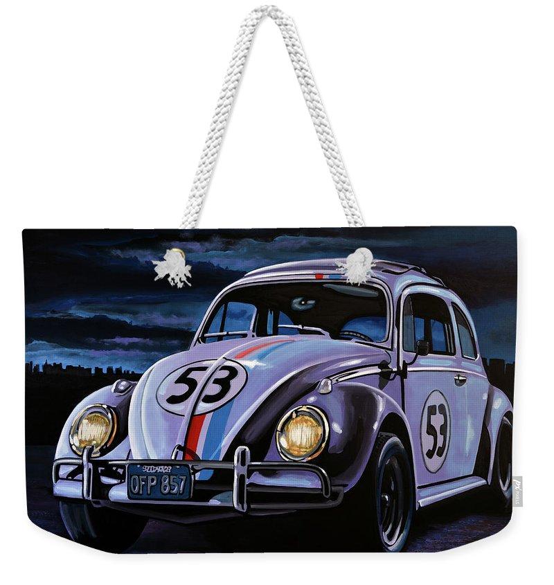 Bug Light Weekender Tote Bags