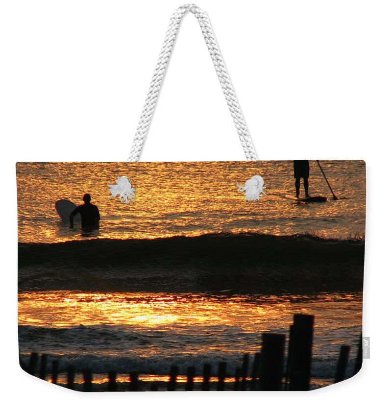 Art For The Wall...patzer Photography Weekender Tote Bag featuring the photograph Here Comes The Sun by Greg Patzer