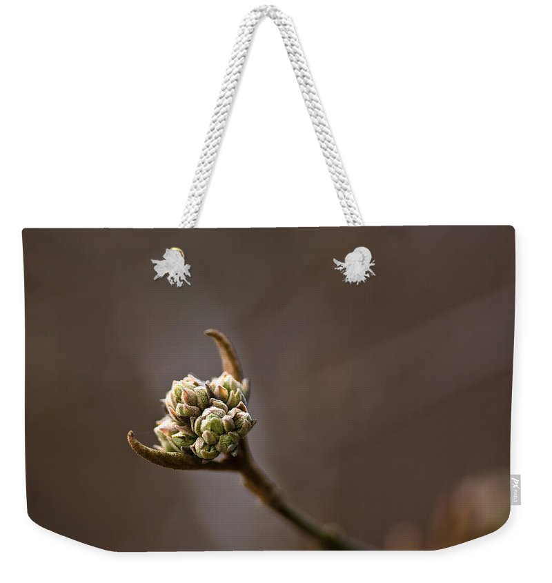 Longwood Gardens Weekender Tote Bag featuring the photograph Here It Comes by Samantha Eisenhauer