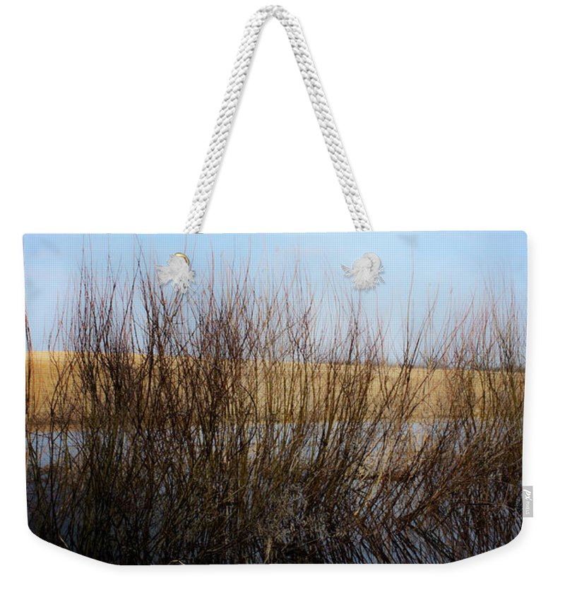 Landscapes Weekender Tote Bag featuring the photograph Highway Seven by The Artist Project