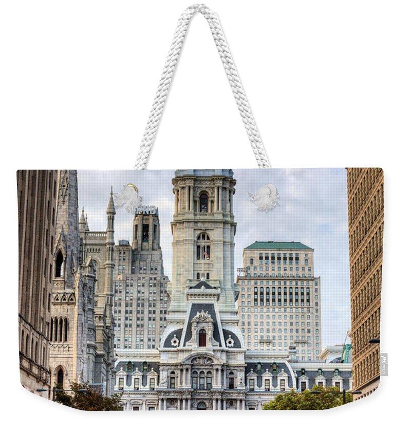 Philadelphia Weekender Tote Bags
