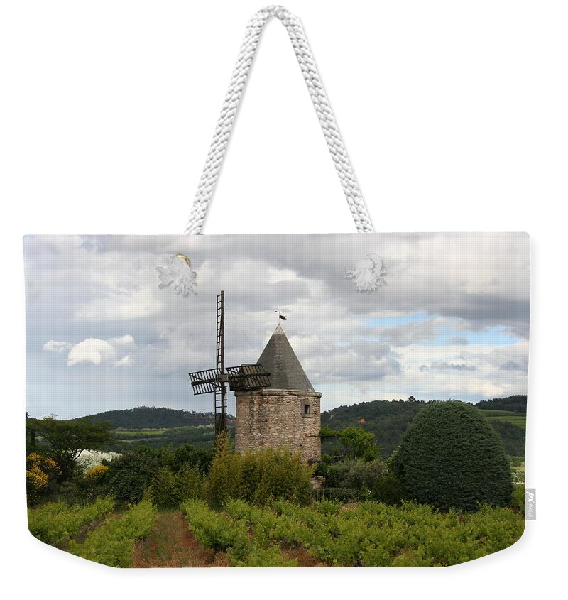 Mill Weekender Tote Bag featuring the photograph Historic Windmill by Christiane Schulze Art And Photography