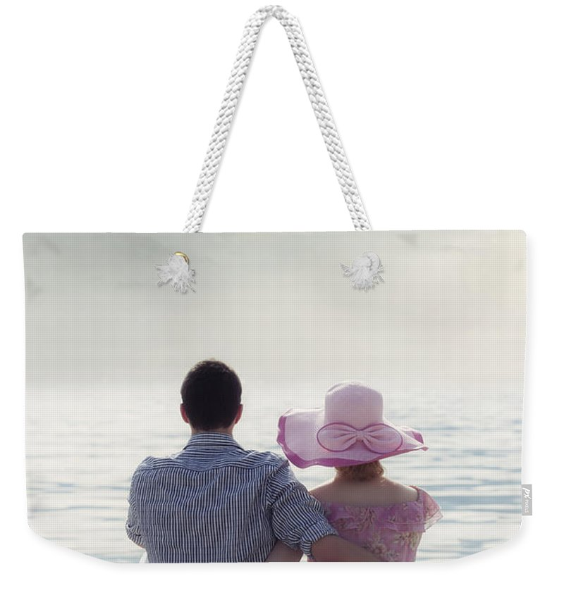 Man Weekender Tote Bag featuring the photograph Holiday Romance by Joana Kruse