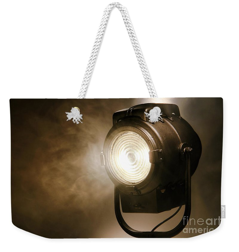 Hollywood Weekender Tote Bag featuring the photograph Hollywood by Olivier Le Queinec