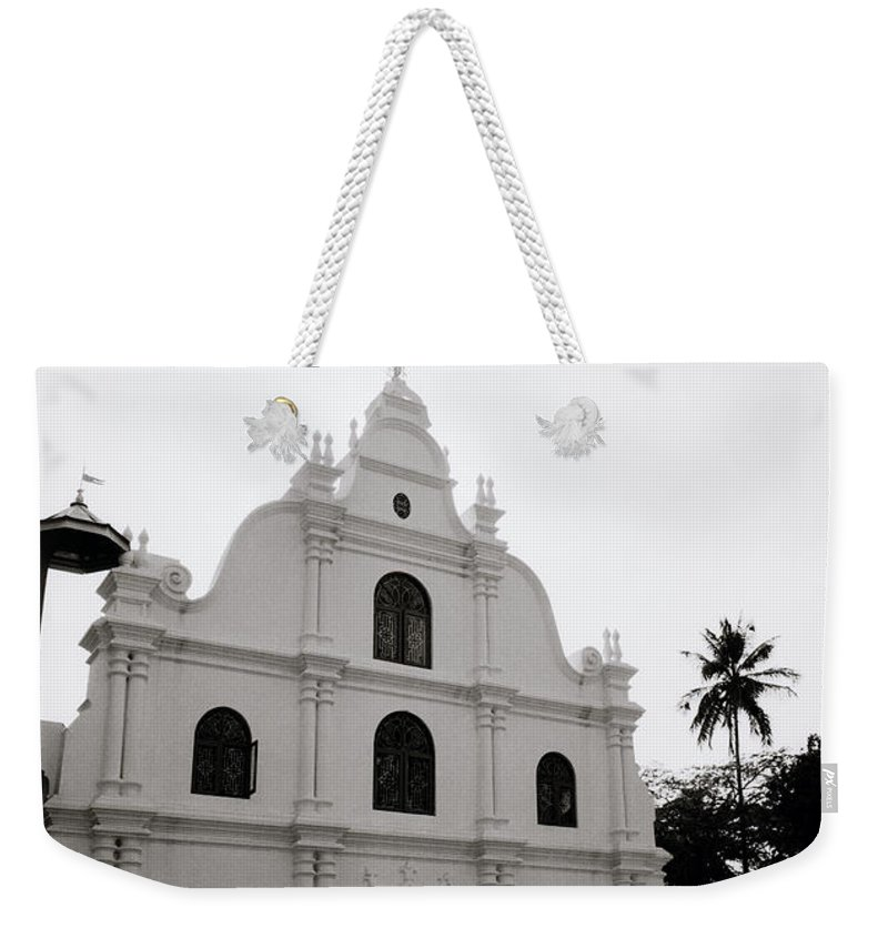 Cochin Weekender Tote Bag featuring the photograph Ethereal Cochin by Shaun Higson