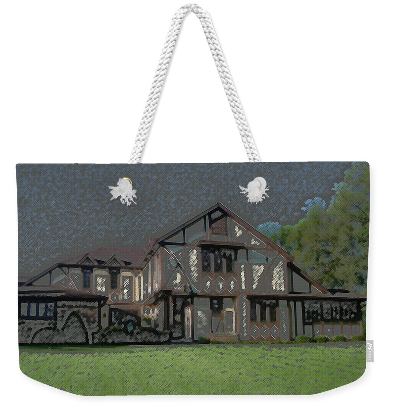 Home Weekender Tote Bag featuring the digital art Home Sweet Home by Lovina Wright