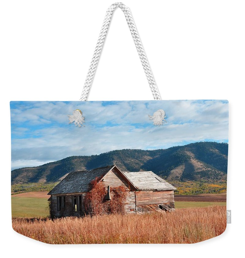Barn Weekender Tote Bag featuring the photograph Homestead by Image Takers Photography LLC - Laura Morgan