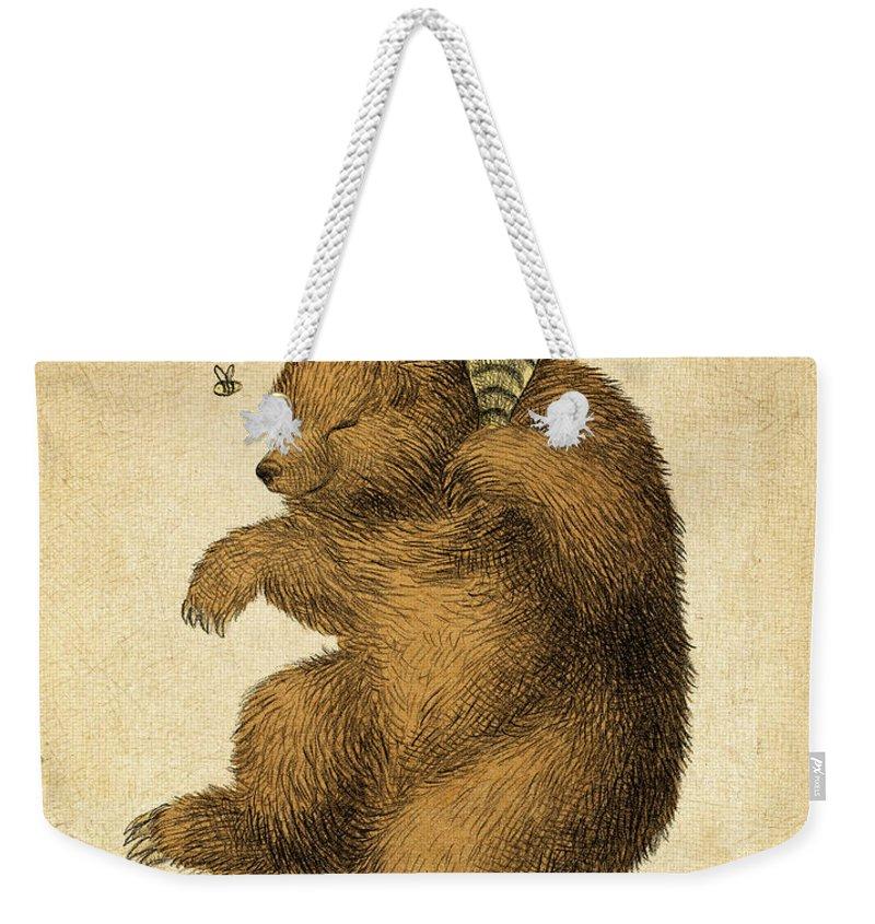 Honey Weekender Tote Bags