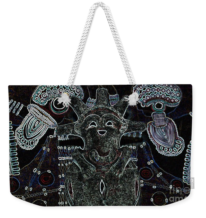 Tribal Weekender Tote Bag featuring the photograph Hopi by Michelle S White