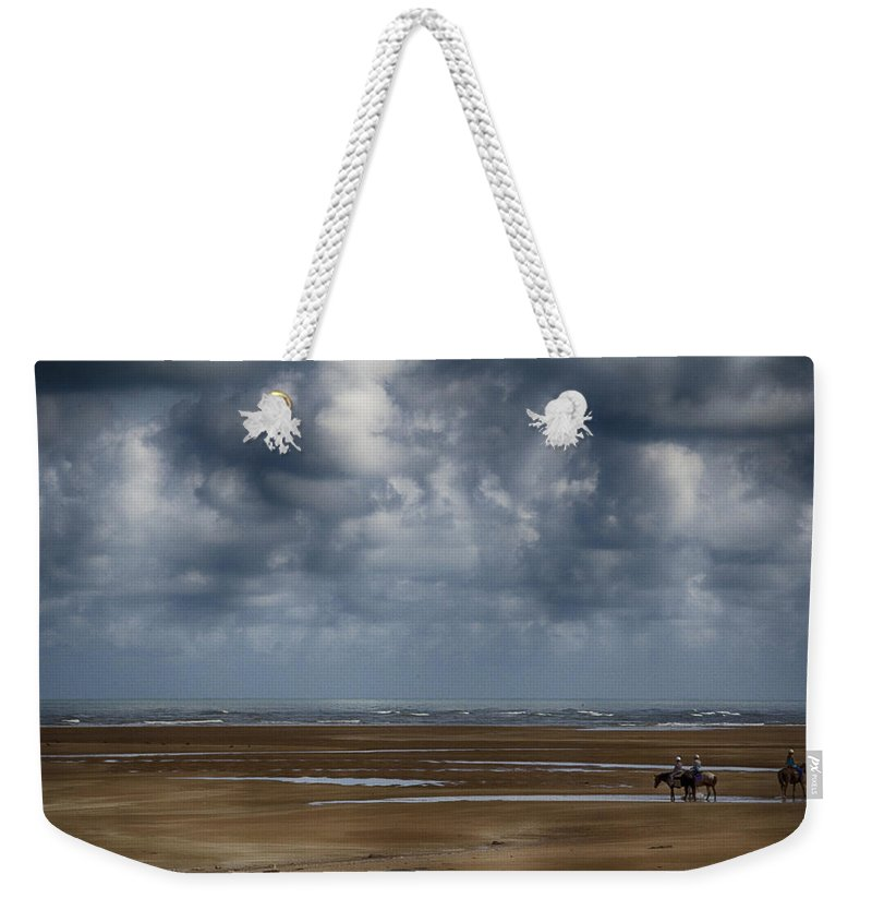 Horses Weekender Tote Bag featuring the photograph Horse Paradise by Douglas Barnard