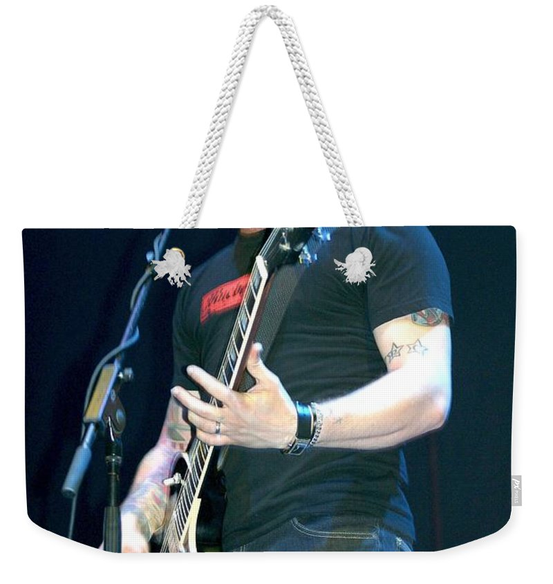 Photos Weekender Tote Bag featuring the photograph Hot Rod Circuit by Concert Photos