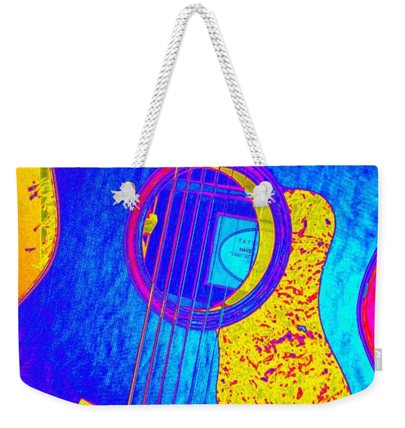 Art Weekender Tote Bag featuring the photograph Hot Taylor by Shelia Kempf
