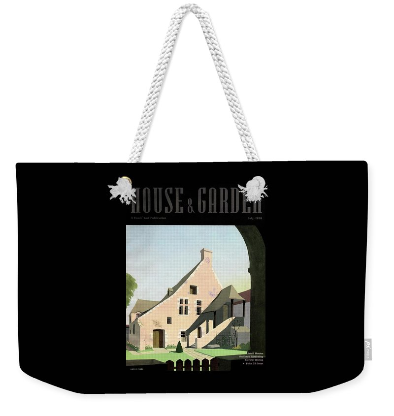 House & Garden Cover Illustration Of An Historic Weekender Tote Bag