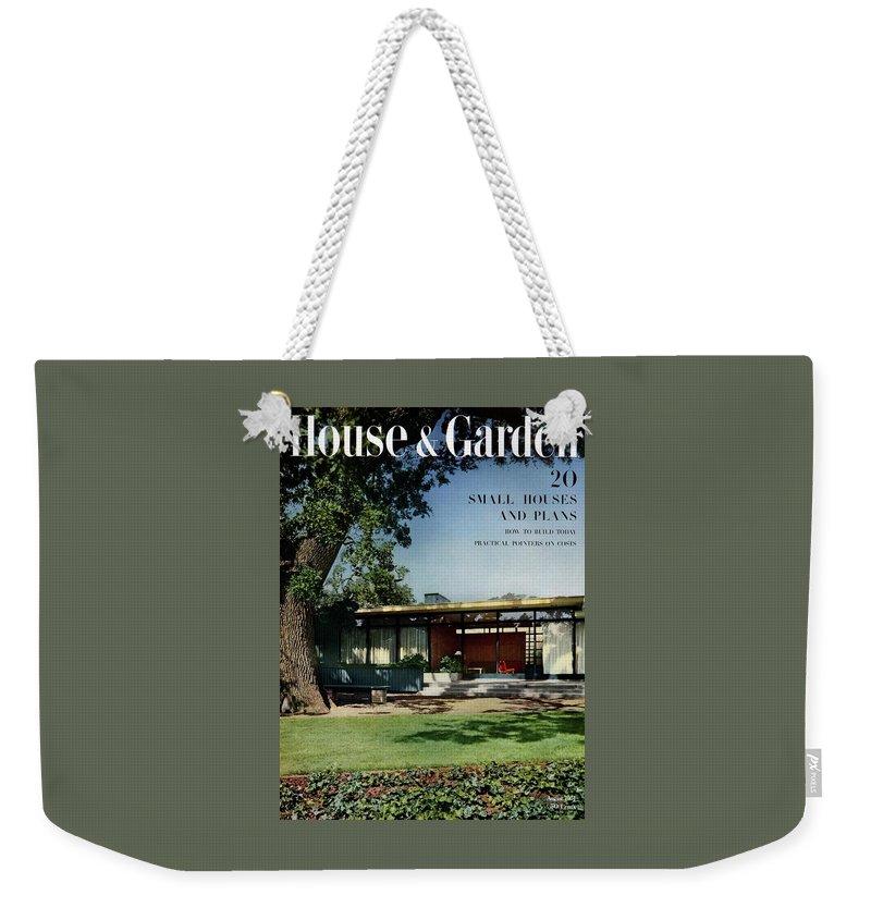 House & Garden Cover Of The Kurt Appert House Weekender Tote Bag