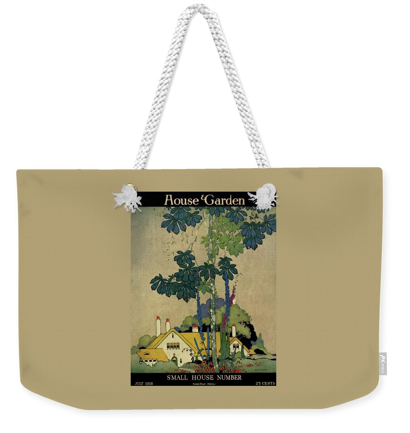 House And Garden Weekender Tote Bag featuring the photograph House And Garden Cover by H. George Brandt