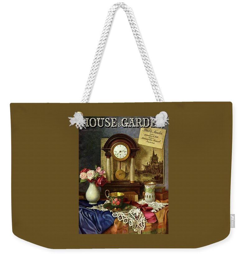 House And Garden Weekender Tote Bag featuring the photograph House And Garden Cover by Robert Harrer