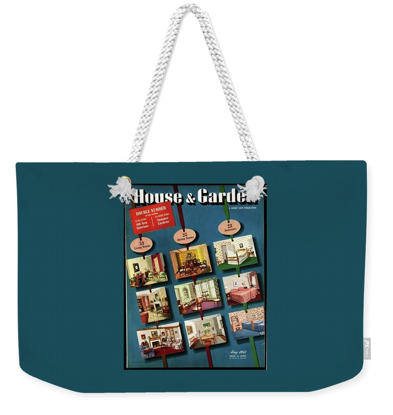 House And Garden Weekender Tote Bag featuring the photograph House And Garden Cover by Urban Weis