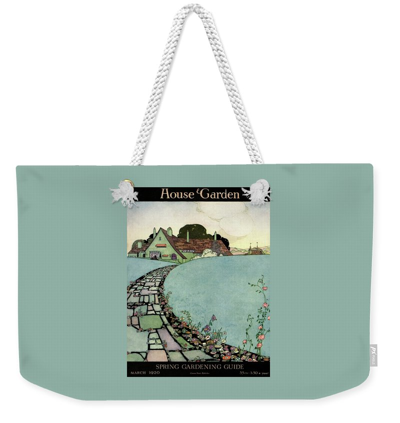 House And Garden Weekender Tote Bag featuring the photograph House And Garden Spring Garden Guide by Harry Richardson