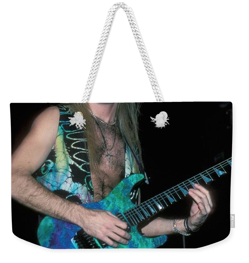 Performing Weekender Tote Bag featuring the photograph House Of Lords by Concert Photos