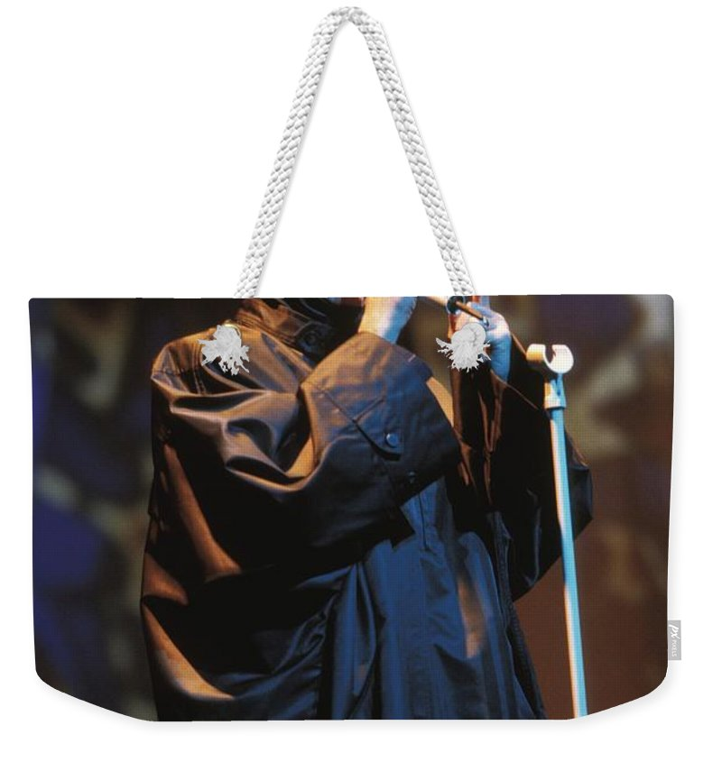 Appearance Weekender Tote Bag featuring the photograph Human League by Concert Photos