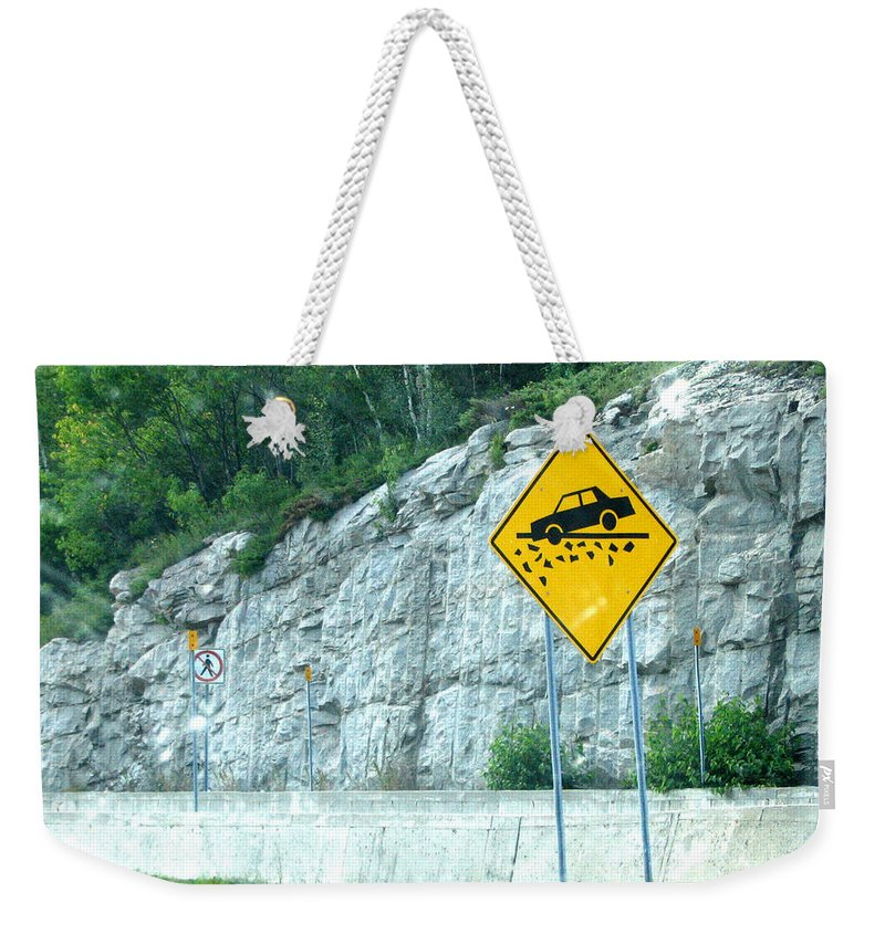 Weekender Tote Bag featuring the photograph Hummm Attention To ...lolllllllllllll by Line Gagne