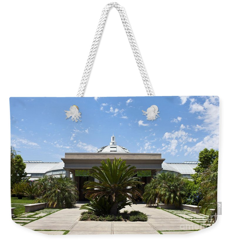Conservatory Weekender Tote Bag featuring the photograph Huntington Library Conservatory by Jason O Watson