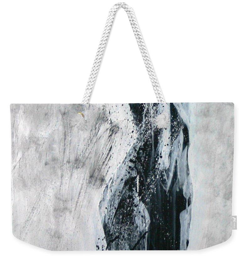 Beautiful Weekender Tote Bag featuring the painting I Am Alive by Jarmo Korhonen aka Jarko