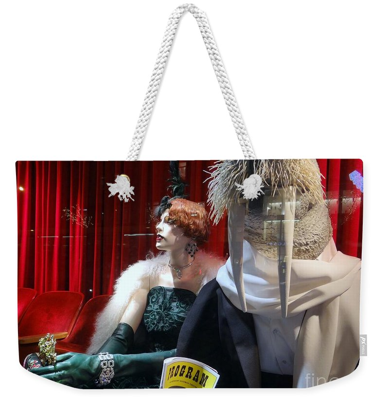 Mannquins Weekender Tote Bag featuring the photograph I Am The Walrus by Ed Weidman