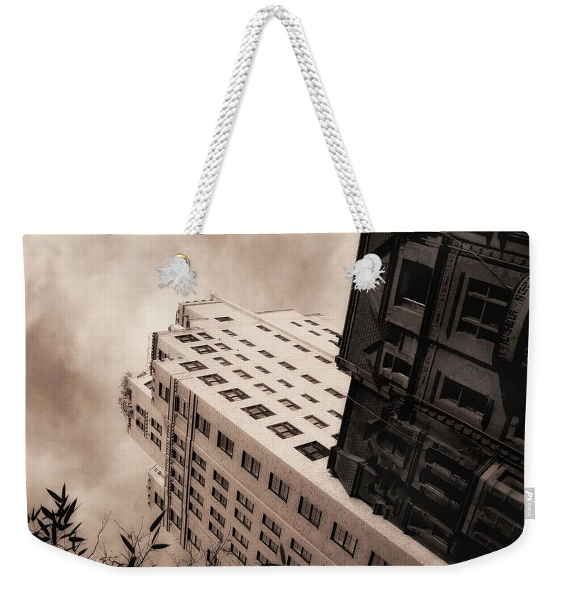 New York Weekender Tote Bag featuring the photograph I Have A Crush On You by Donna Blackhall
