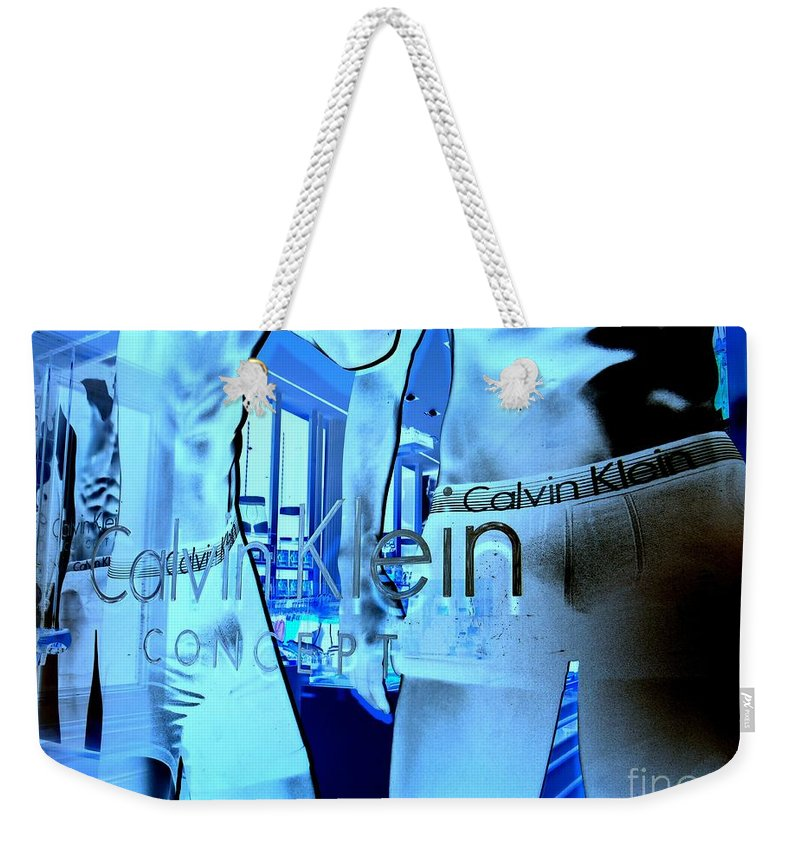 Briefs Weekender Tote Bag featuring the photograph Iconic by Ed Weidman
