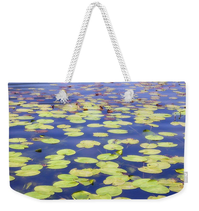 Beautiful Weekender Tote Bag featuring the photograph Idyllic Pond by Joana Kruse