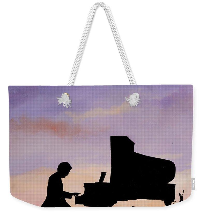 Piano Paintings Weekender Tote Bags