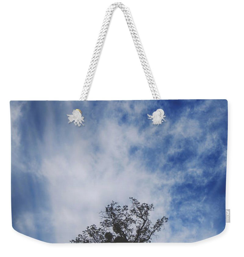 Sunol Ohlone Regional Wilderness Weekender Tote Bag featuring the photograph I'll Still Be Standing Here by Laurie Search