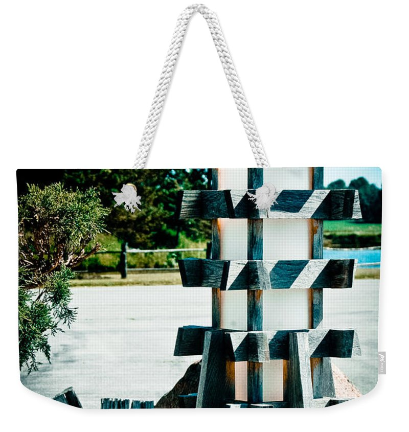 Abbey Weekender Tote Bag featuring the photograph Illuminating by Rhonda Barrett