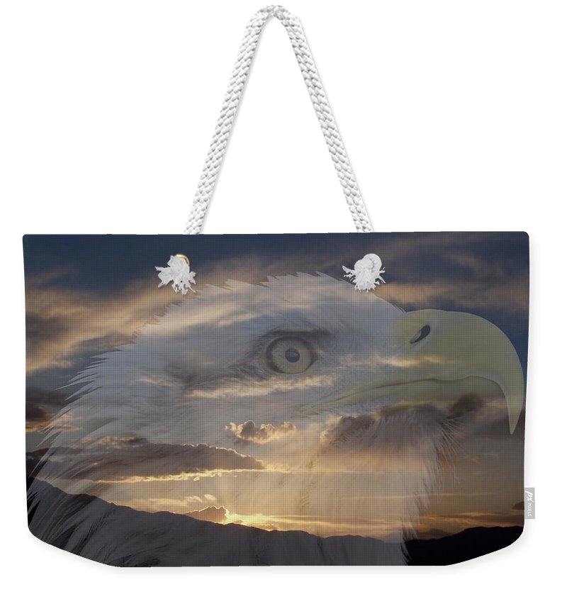 Animals Weekender Tote Bag featuring the photograph Imagine by Ernie Echols
