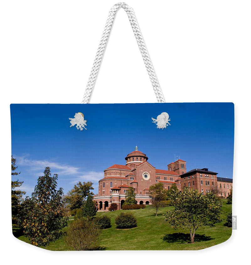 Monasteries Weekender Tote Bag featuring the photograph Immaculate Conception Monastery by Sandy Keeton