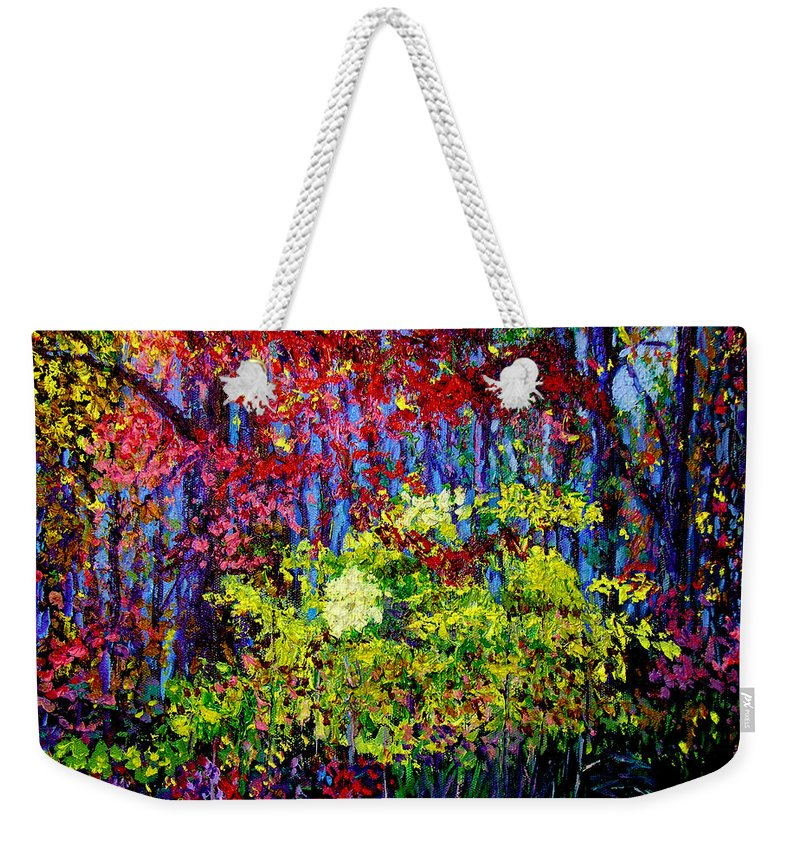 Impressionism Weekender Tote Bag featuring the painting Impressionism 1 by Stan Hamilton